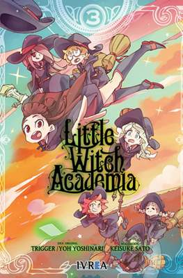 Little Witch Academia (Rústica con sobrecubierta) #3