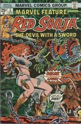 Marvel Feature presents Red Sonja (Comic Book) #3