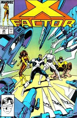 X-Factor Vol. 1 (1986-1998) (Comic Book) #28
