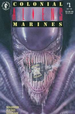 Aliens: Colonial Marines (Saddle-stitched. 1993) #1