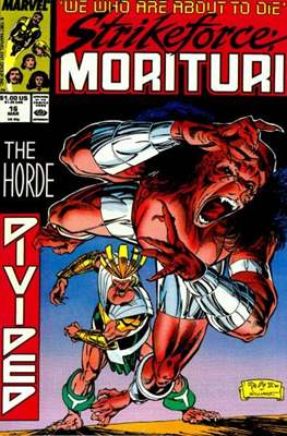 Strikeforce Morituri (Comic-book.) #16