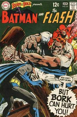 The Brave and the Bold Vol. 1 (1955-1983) (Comic Book) #81