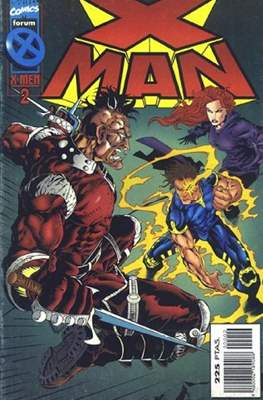 X-Man vol. 2 (1996-2000) (Grapa. 17x26. 24 páginas. Color.) #2
