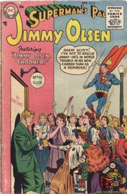 Superman's Pal, Jimmy Olsen / The Superman Family (Comic Book) #8