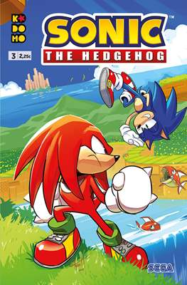 Sonic The Hedgehog (Grapa 24 pp) #3