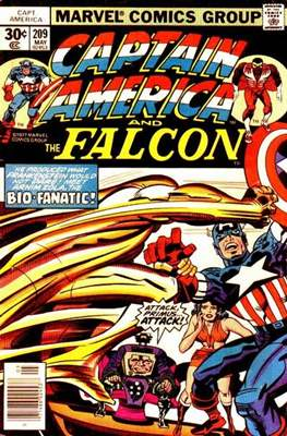 Captain America Vol. 1 (1968-1996) (Comic Book) #209