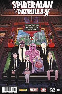 Lobezno y la Patrulla-X / Spiderman y La Patrulla-X (2012-2015) (Grapa.) #39