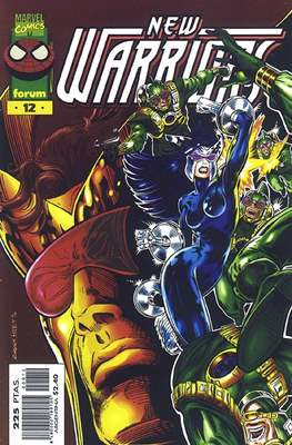 The New Warriors vol. 3 (1996-1997) (Grapa. 17x26. 24 páginas. Color.) #12