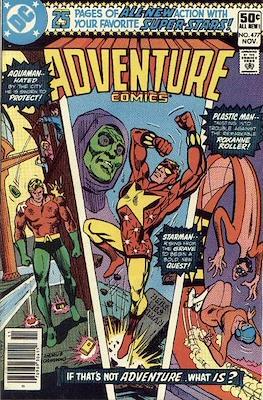 New Comics / New Adventure Comics / Adventure Comics (1935-1983; 2009-2011) (Saddle-Stitched) #477