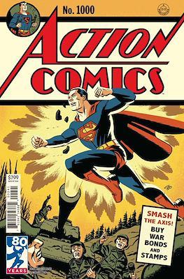 Action Comics Vol. 1 (1938-2011; 2016-... Variant Covers) (Comic Book) #1000.1