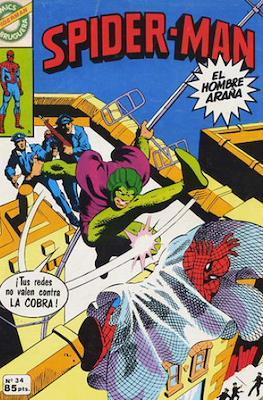 Spider-Man. Cómics Bruguera (Grapa (1980)) #34