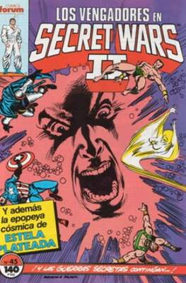 Secret Wars (1985-1987) (Grapa 32 pp) #45