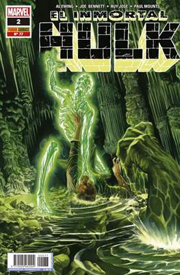 El Increíble Hulk Vol. 2 / Indestructible Hulk / El Alucinante Hulk / El Inmortal Hulk (2012-) (Comic Book) #77/2