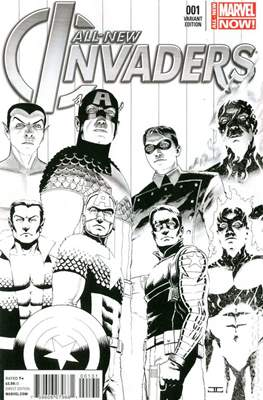 All-New Invaders (2014 Variant Cover) (Comic Book) #1.4