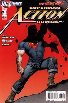 Action Comics (Vol. 2 2011-2016 Variant Covers) (Comic Book) #1.3