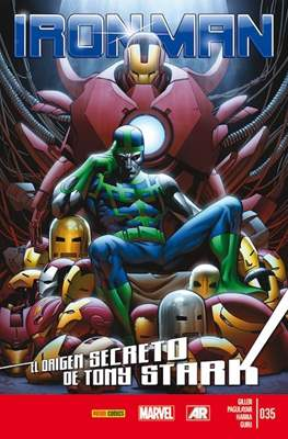 El Invencible Iron Man Vol. 2 (2011-) (Grapa - Rústica) #35