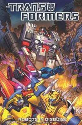 Transformers- Robots in Disguise (Softcover) #4