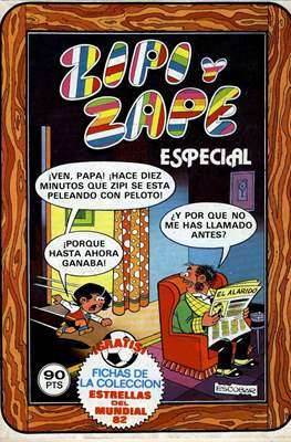 Zipi y Zape Especial / ZipiZape Especial (Grapa 76-100 pp) #95