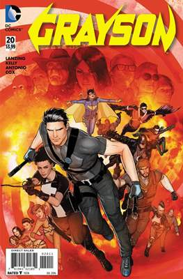 Grayson (2014-2016) (Comic-Book) #20