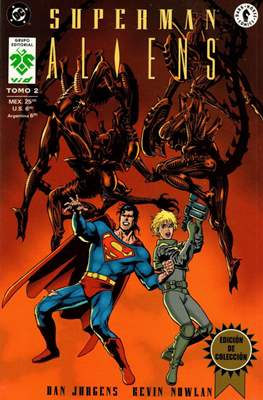Superman / Aliens (Rustica) #2