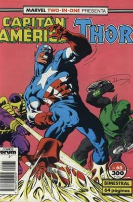 Capitán América Vol. 1 / Marvel Two-in-one: Capitán America & Thor Vol. 1 (1985-1992) (Grapa 32-64 pp) #65
