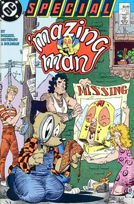 ´mazing Man Special (comic grapa usa) #1