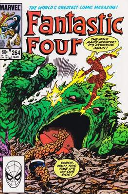 Fantastic Four Vol. 1 (1961-1996) (saddle-stitched) #264