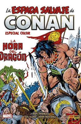 Biblioteca Conan. La Espada Salvaje de Conan: La hora del Dragón Especial Color