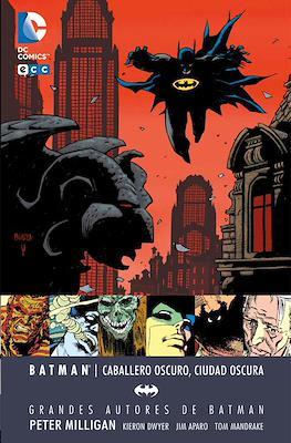 Grandes Autores de Batman: Peter Milligan. Caballero oscuro, Ciudad oscura