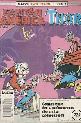 Capitán América Vol. 1 (1985-1992) (Retapado Rústica) #7