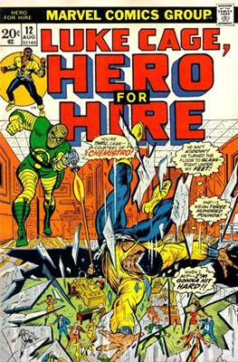 Hero for Hire/Power Man Vol.1 (1972-1978) (Grapa, 32 págs.) #12