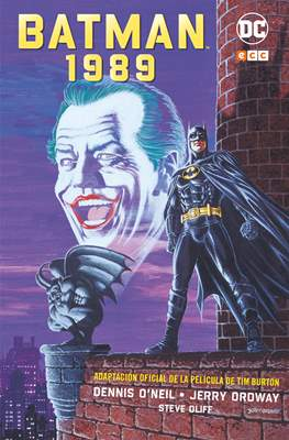 Batman 1989: Adaptación oficial de la película de Tim Burton (Cartoné 152 pp) #