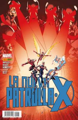 La Nueva Patrulla-X / La Patrulla-X Azul / Patrulla-X Negra (2013-) (Grapa) #37