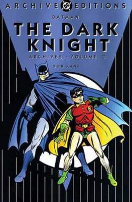 DC Archive Editions. Batman The Dark Knight (Hardcover with dust cover) #3