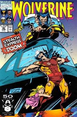 Wolverine (1988-2003) (Comic Book) #40
