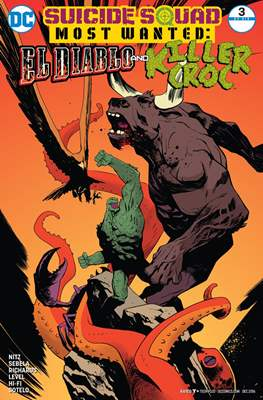 Suicide Squad Most Wanted: El Diablo and Boomerang/Killer Croc/Amanda Waller (Comic Book) #3