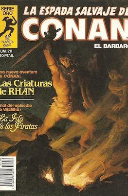 La Espada Salvaje de Conan. Vol 1 (1982-1996) (Grapa. B/N.) #20