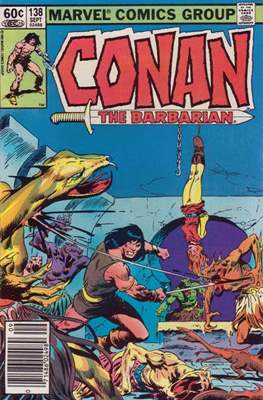 Conan The Barbarian (1970-1993) (Comic Book 32 pp) #138