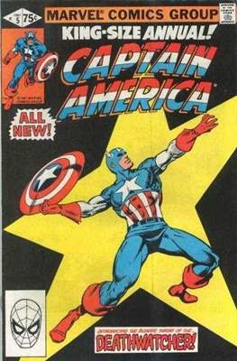 Captain America Vol. 1 Annual (1971-1994) (Comic Book) #5