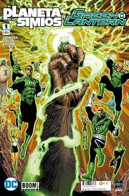 Green Lantern / El Planeta de los Simios (Grapa 24 pp) #1