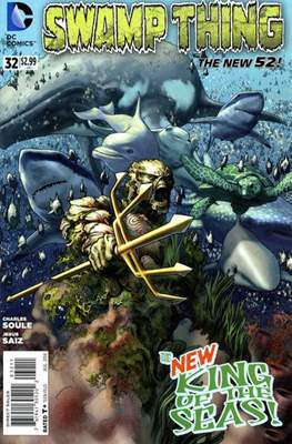 Swamp Thing vol. 5 (2011-2015) #32