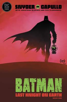 Batman: Last Knight On Earth (Comic Book) #1