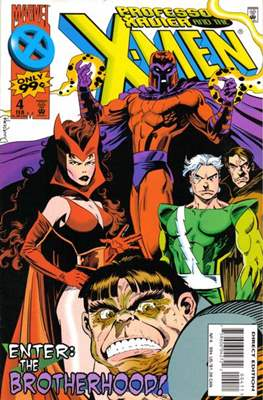 Professor Xavier and the X-Men (Comic Book) #4