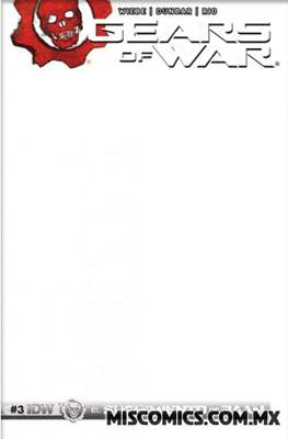 Gears of War (Portada Variante) #3.2
