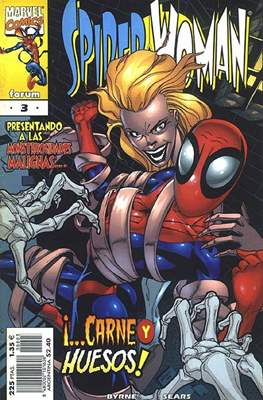 Spider-Woman (2000-2001) (Grapa. 17x26. 24 páginas. Color.) #3