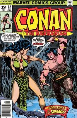 Conan The Barbarian (1970-1993) (Comic Book 32 pp) #82