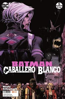 Batman: Caballero Blanco (Grapa. 32 páginas.) #5