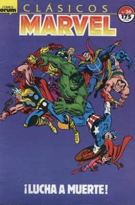 Clásicos Marvel (1988-1991) (Grapa.) #36