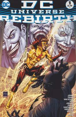 DC Universe Rebirth (2016) (Grapa) #1.5