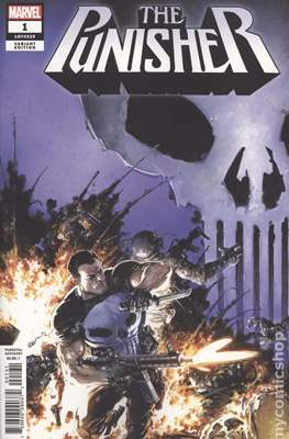 The Punisher (2018- Variant Cover) #1.1